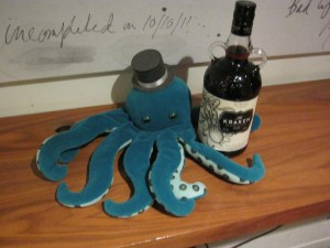 Octopus and Rum