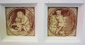 Felsted School - Aesop tiles