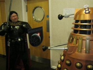 Black Knight fights Dalek2-small