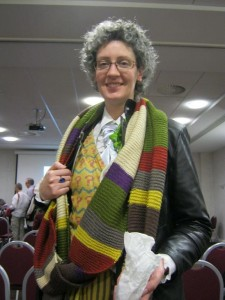 A 'composite' Doctor Who, winner of the costume category