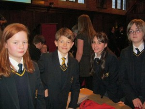 Finham Park School Team after claiming second prize