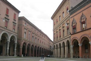 Bologna - outside Basilica Santo Stefano-small