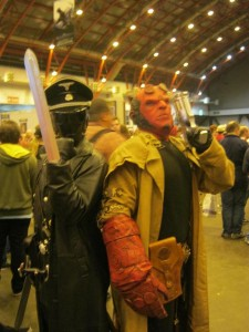 Hellboy and nemesis