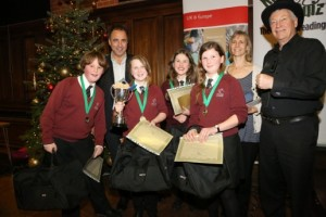 The winners - Litcham School (Photo courtesy of KT Bruce Photography)