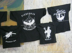 Picocon t-shirts-small