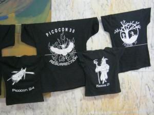 Picocon t-shirts-small