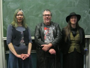 With Ian McDonald and Kari Sperring