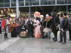 The fairground folk