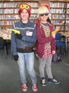 Townley Grammar - graphic novel costumes-small
