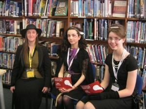 Townley Grammar - with student reporters2-small