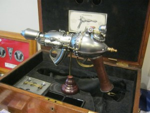 Steam Pistol, created by Herr Doktor